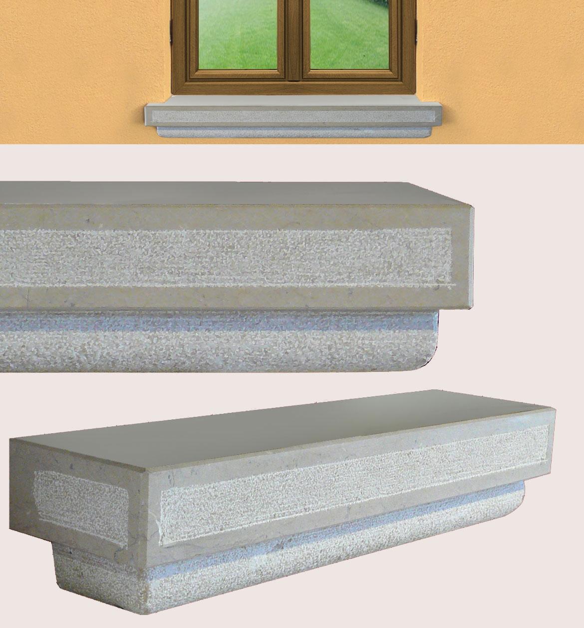 Realizzazione davanzali finestre in provincia di venezia - Davanzale interno finestra ...
