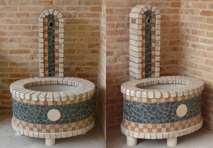 Piano Terracotta Marmo Venezia : Realizzazione fontane vasche e lavandini in pietra marmo