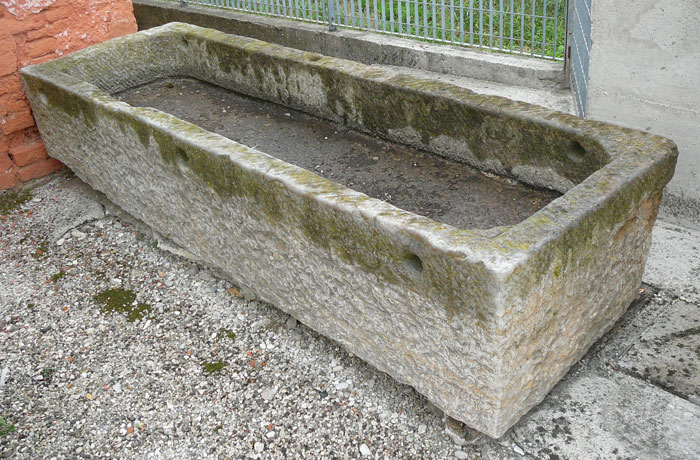 Realizzazione fontane vasche e lavandini in pietra marmo - Vasche in pietra da giardino ...