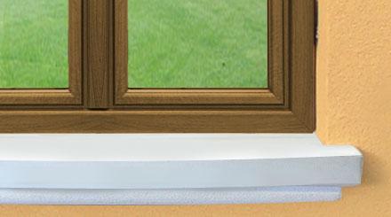 Manufatti in cemento lavorazione restauro graniglia - Soglie per finestre ...